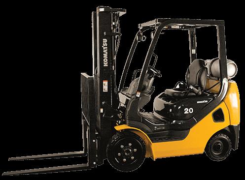 Komatsu Forklift Rentals