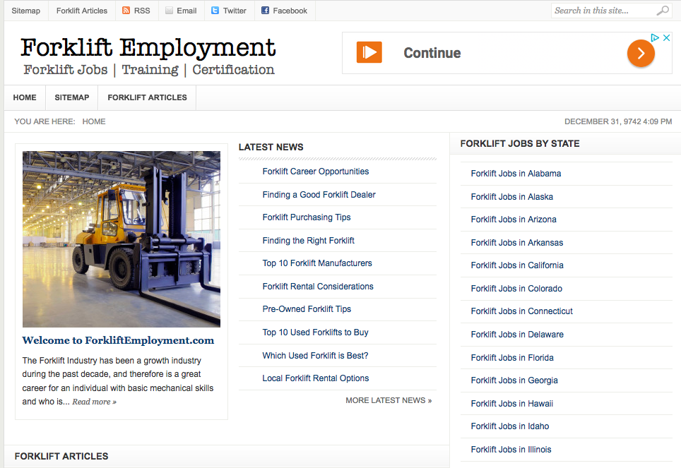 Forklift Jobs